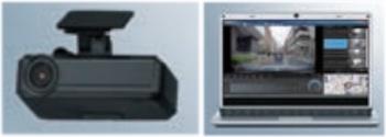 インプレッサG4の純正ドライブレコーダー