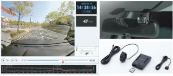 RVRの純正ドライブレコーダー