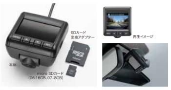 S660の純正ドライブレコーダー