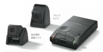 レクサスLXの純正ドライブレコーダー