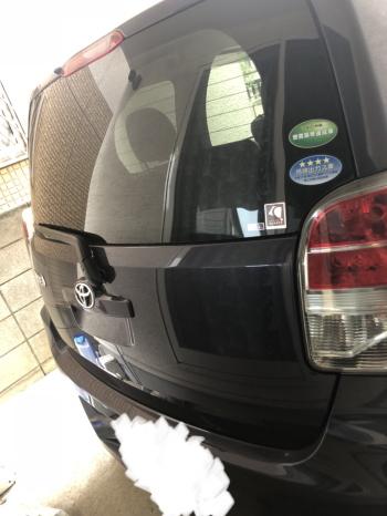 トヨタ スペイドのネット車査定 スペイドの画像リア