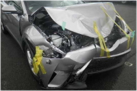 C-HRの事故現状車でも査定相場が残るか?