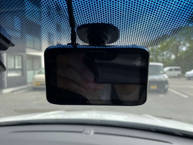 ヴェゼルのドライブレコーダー