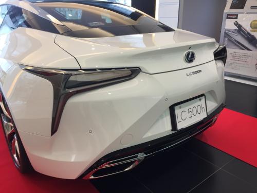 LC展示車リヤ