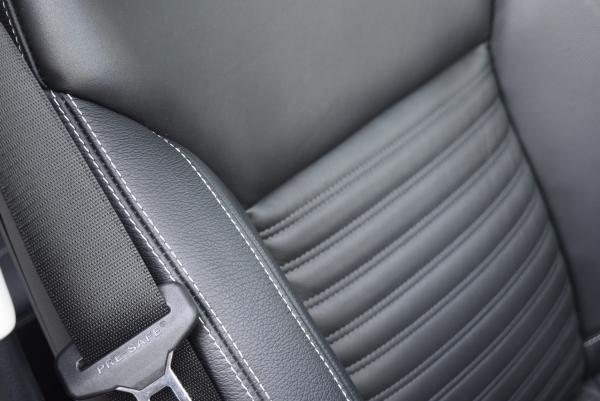ベンツGLE350dスポーツの運転席シート