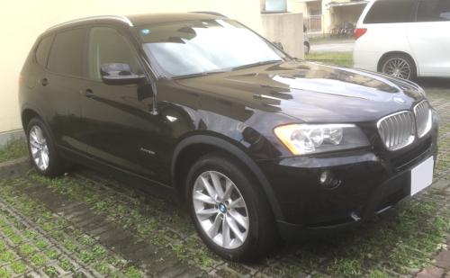 BMW X3の無料ネット車査定の事例 斜め前画像