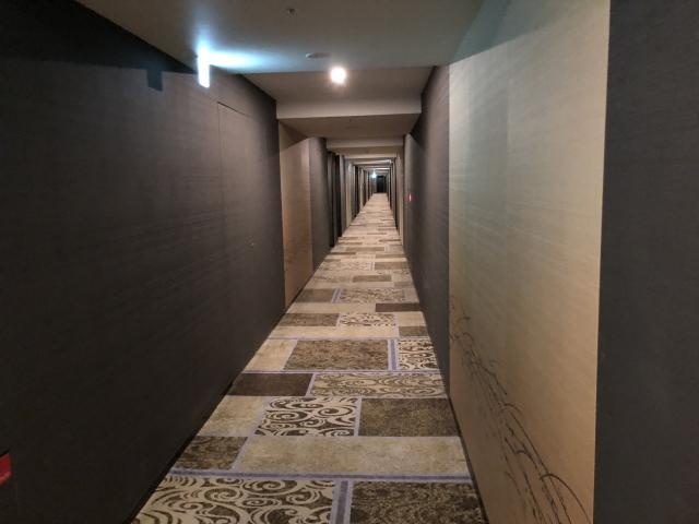 エクシブ湯河原スーパースイートの客室廊下