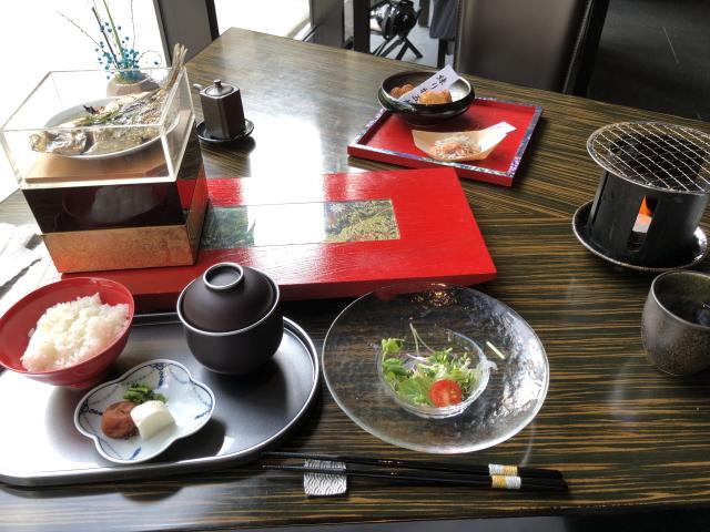 エクシブ湯河原の和食の朝食