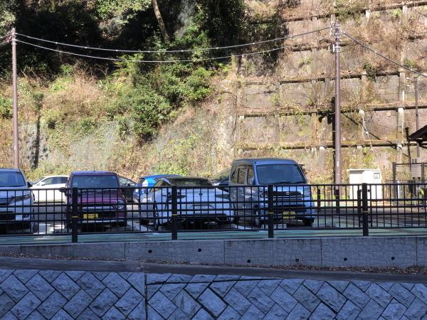 箱根湯本の駐車場
