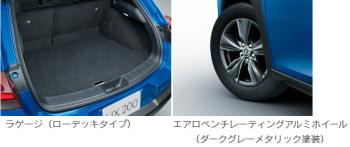 レクサス UX Blue Editionの装備