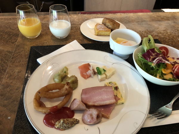 エクシブ箱根の朝食