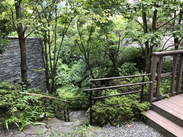 エクシブ箱根の散策路
