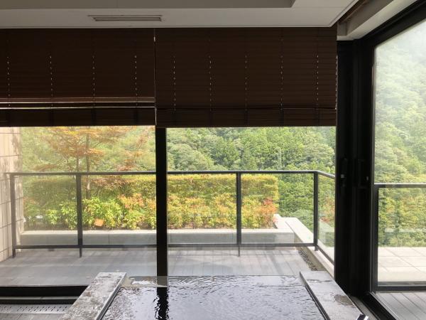 エクシブ箱根の部屋風呂
