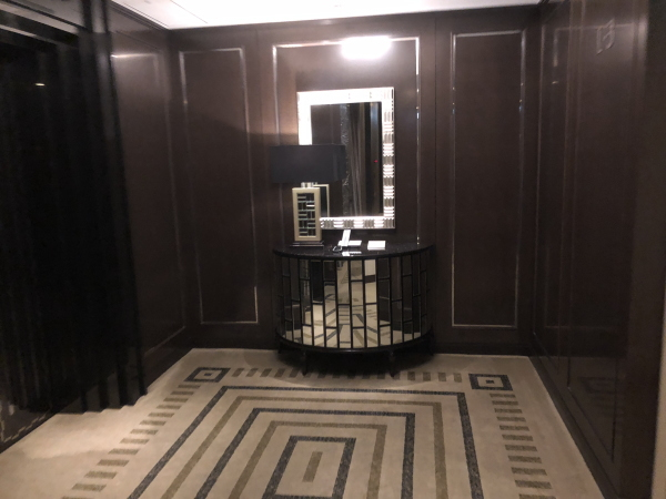 山中湖サンクチュアリのエレベーターエレベーターホール