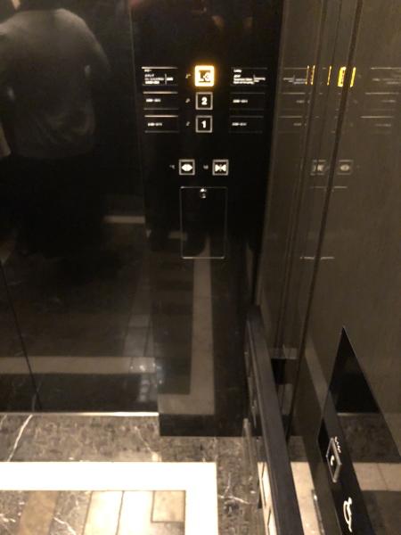 山中湖サンクチュアリ・ヴィラ エレベーターホール