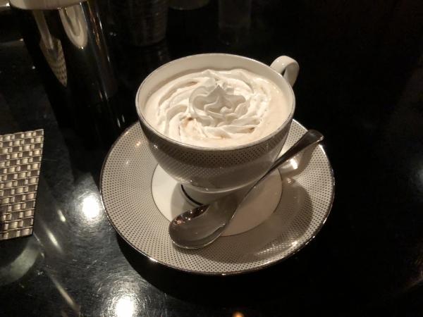 エクシブ山中湖のウインナーコーヒー