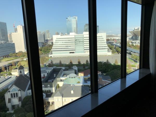 ベンツGLEで東京ベイコート俱楽部へ宿泊