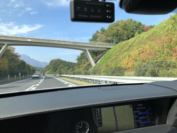 北関東道から関越-上信越道へ。
