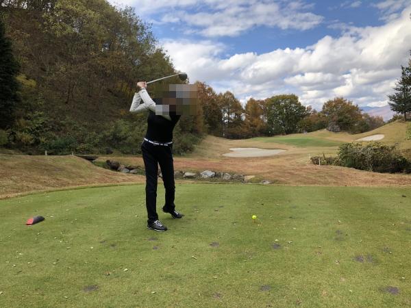 グランディ軽井沢ゴルフクラブでゴルフ