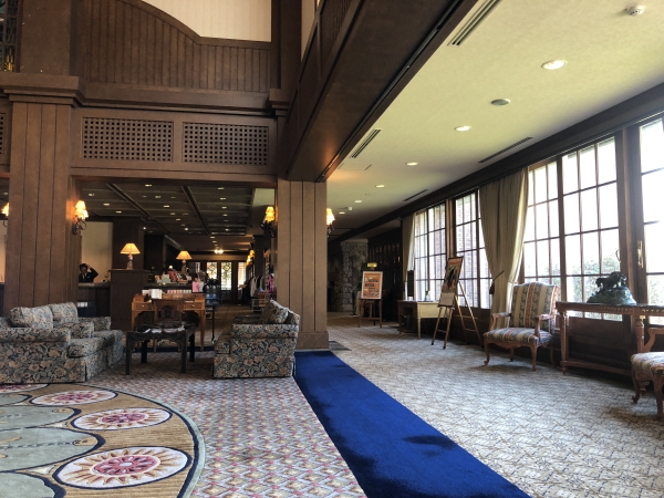グランディ軽井沢のクラブハウス