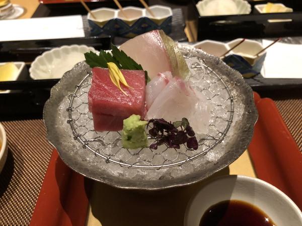 エクシブ軽井沢の夕食 天ぷら