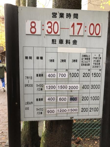 軽井沢銀座駐車場