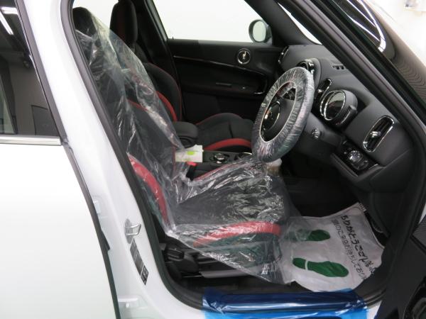 ミニのコーティング 運転席の保護