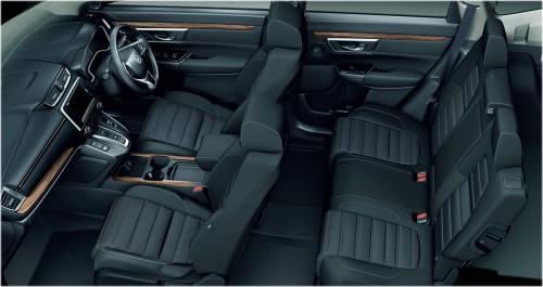 CR-Vのインテリア・車内空間の比較