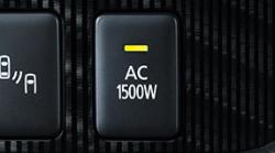 アウトランダーPHEVのインテリア・AC電源