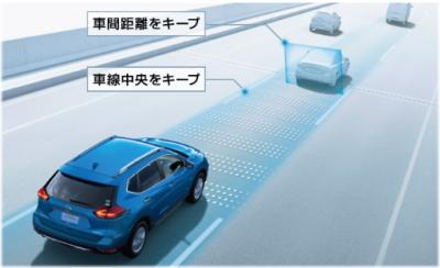 エクストレイルの運転&走行性能の口コミ・プロパイロット