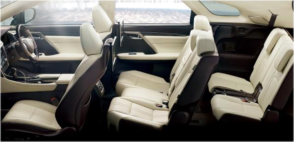 レクサスRXのインテリア・車内空間の口コミ