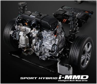 ステップワゴンハイブリッドのi-MMDシステム