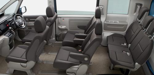 ステップワゴンのインテリア・車内空間