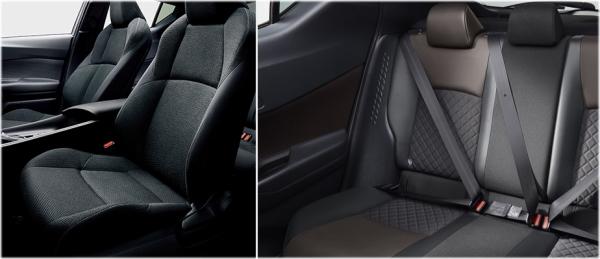 C-HRのインテリア・車内空間