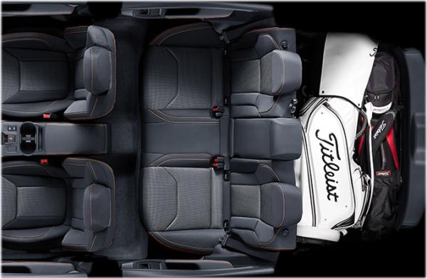 スバルXVのインテリア・車内空間