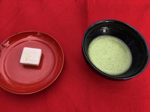 金閣寺 抹茶