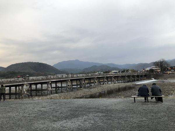京都嵐山 渡月橋