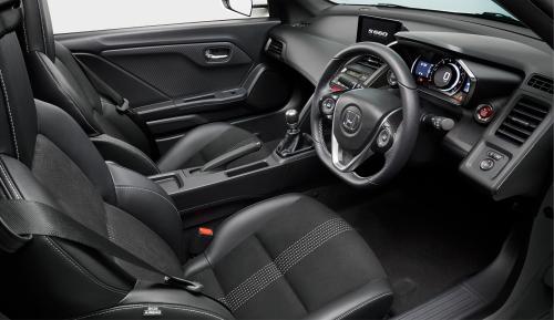 S660のインテリア・車内空間