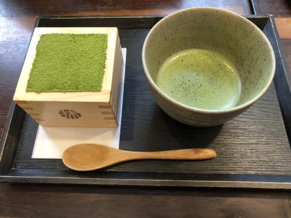 抹茶と抹茶ティラミス