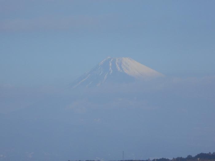 巣雲山からの富士山