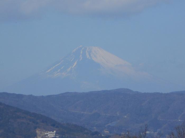 小室山公園からの富士山の眺望
