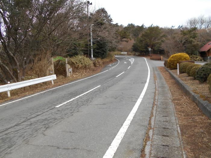 戸田峠展望台へ