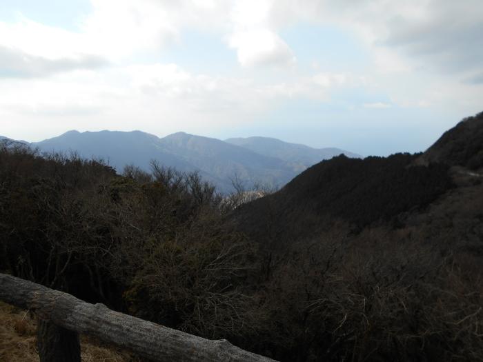 石田峠展望台の眺望