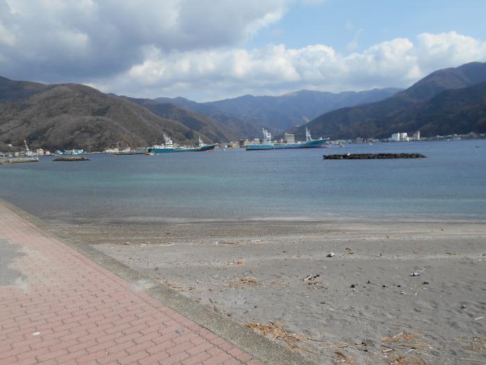 御浜岬の遊歩道