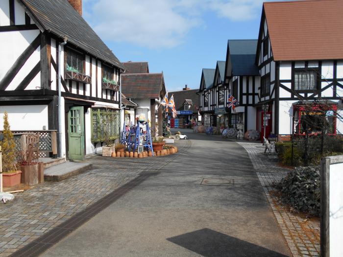 英国風の街並み