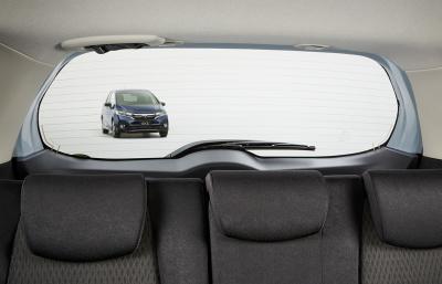 フィットの運転&走行性能の口コミ評価・後方視界