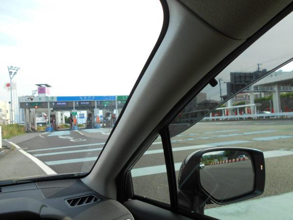 レヴォーグで高速走行
