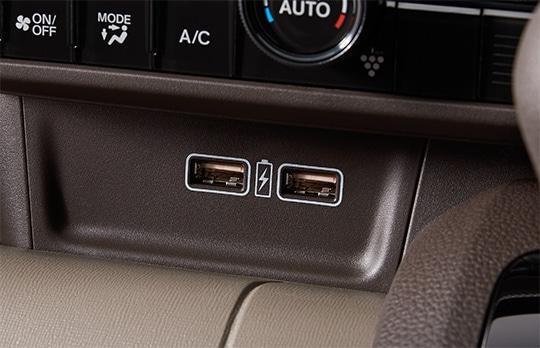 N-WGNの充電用USBジャック