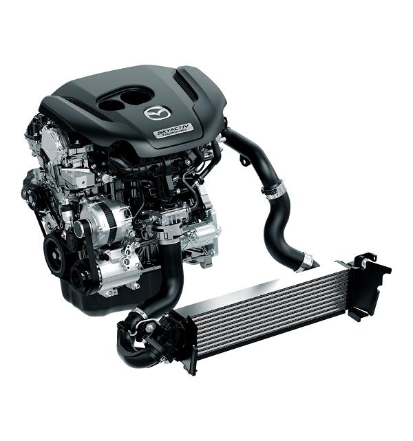 CX-5の2.5Lガソリンターボエンジン