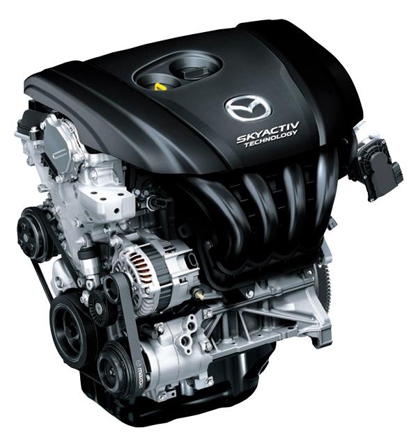 CX-5の2.5Lガソリンノンターボエンジン